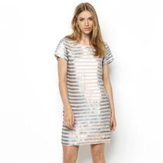SERPENT SEQUIN DRESS