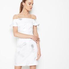 FOIL PINEAPPLE DRESS