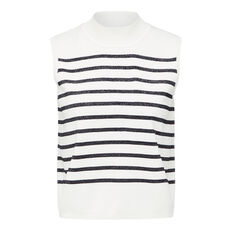 STRIPE CROP KNIT