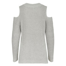 CUT OUT SHOULDER MOZART KNIT