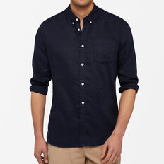 LINEN REGULAR FIT SHIRT
