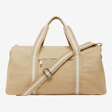 COTTON CANVAS DUFFLE