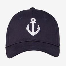 EMBROIDERED ANCHOR CAP