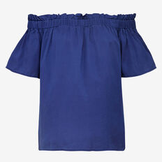 STAYTON  RUFFLE TOP
