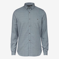 PAISLEY STRETCH SLIM FIT SHIRT
