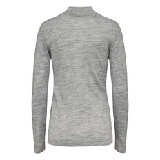 JIMMY LURE L/S HIGH NECK TOP
