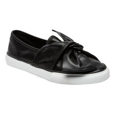 SLIP ON BOW SNEAKERS