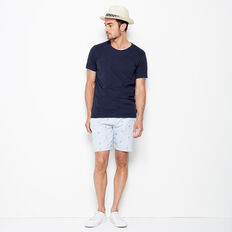 PELICAN EMBROIDERED SHORT