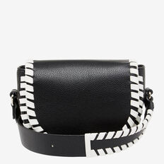 WHIP STITCH SADDLE BAG