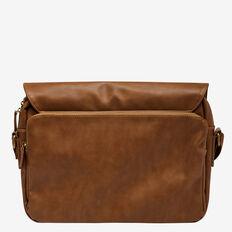 METRO PU MESSENGER BAG