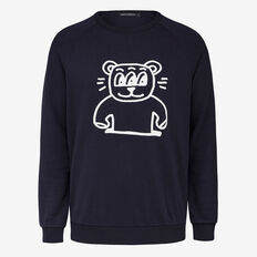 FUNNY BEAR CREW NECK SWEAT