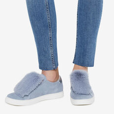 FAUX FUR SNEAKER ACCESSORY