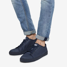 NAVY COMPASS COTTON SNEAKER