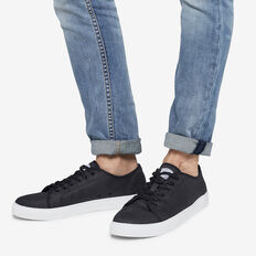 BLACK COMPASS COTTON SNEAKER