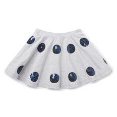Sequin Spot Skirt
