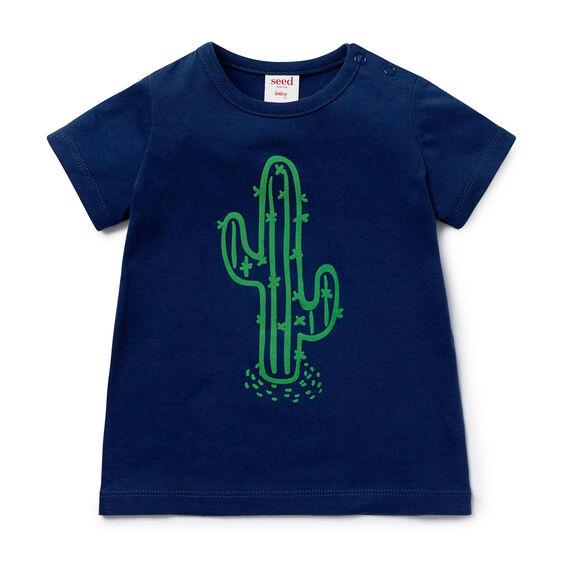 Cactus Flock Tee