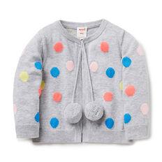 Multi Spot Knit Cardigan