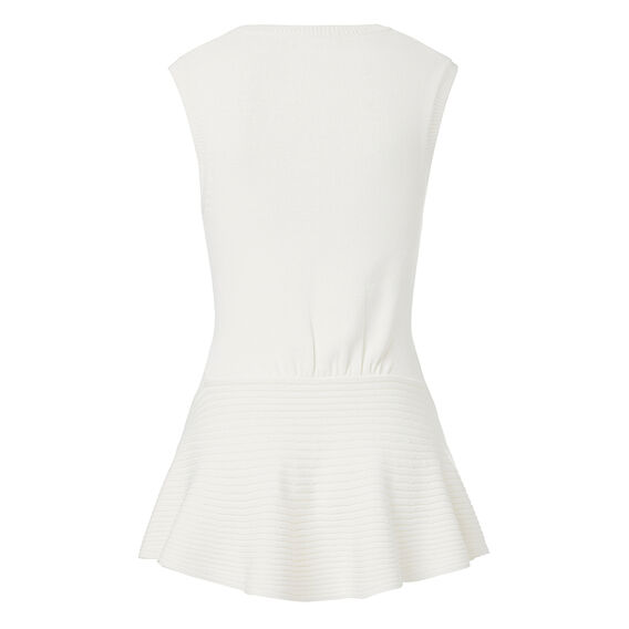 Cable Peplum