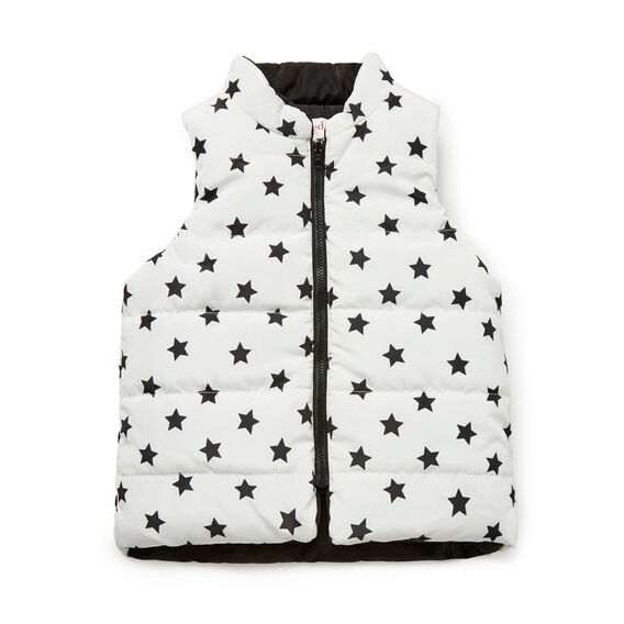 Mini Star Reversible Vest