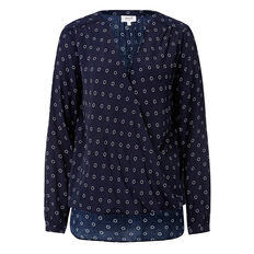 Twin Spot Wrap Shirt