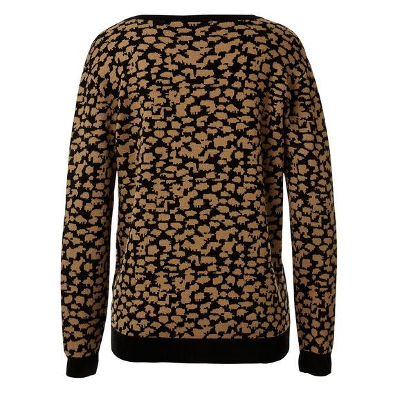 Ocelot Knit Sweater