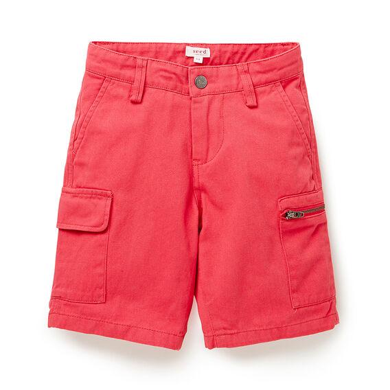 Cargo Slim Shorts