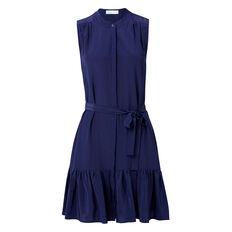 Drop Hem Frill Dress