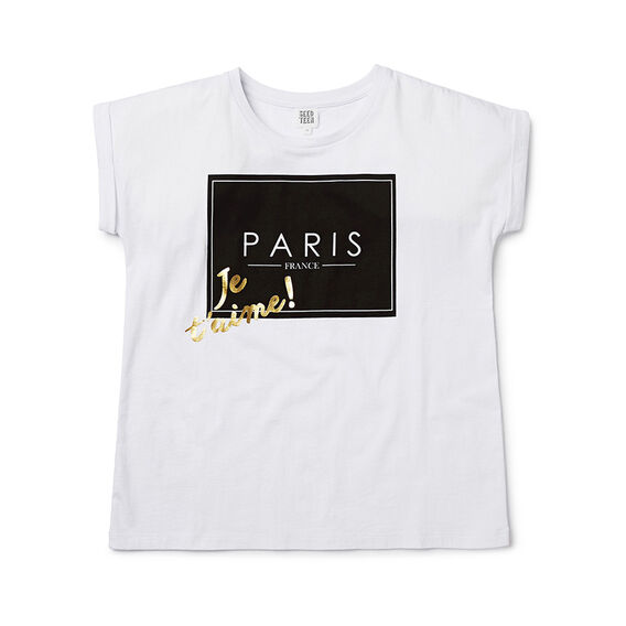 Paris Slogan Tee