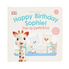 Sophie Peekaboo Happy Birthday Book