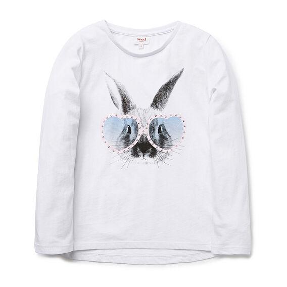 Bunny Bling LS Tee