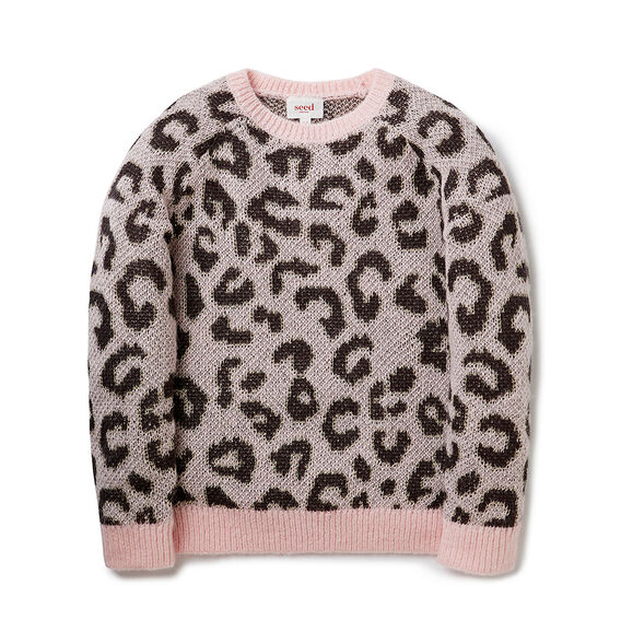 Ocelot Fluffy Sweater