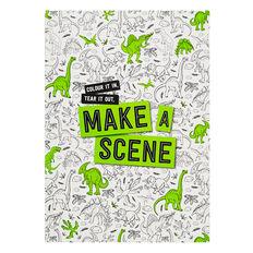 Make A Scene Dinosaurs Book