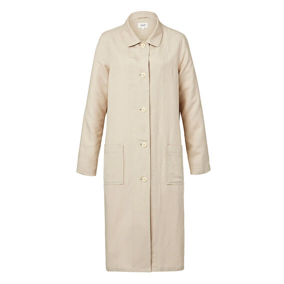 Linen Over Coat