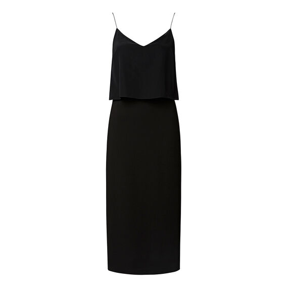 Collection Layered Midi Dress