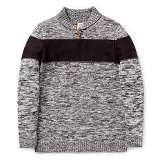 Shawl Knit Sweater