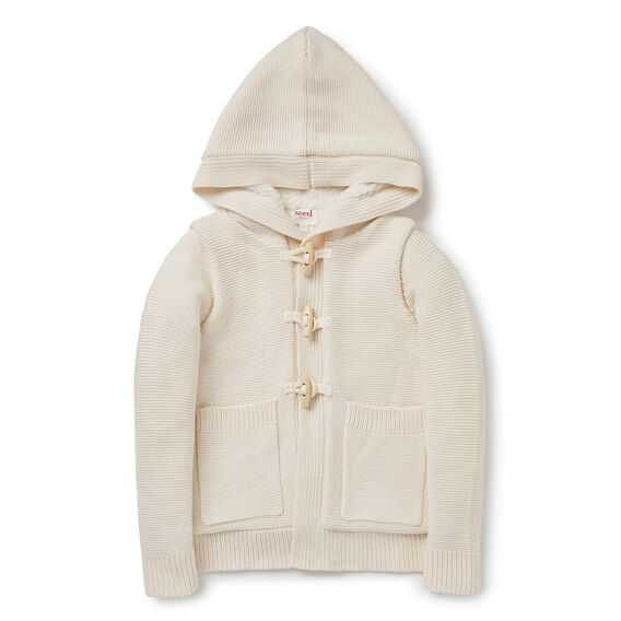 Cable Sherpa Cardigan