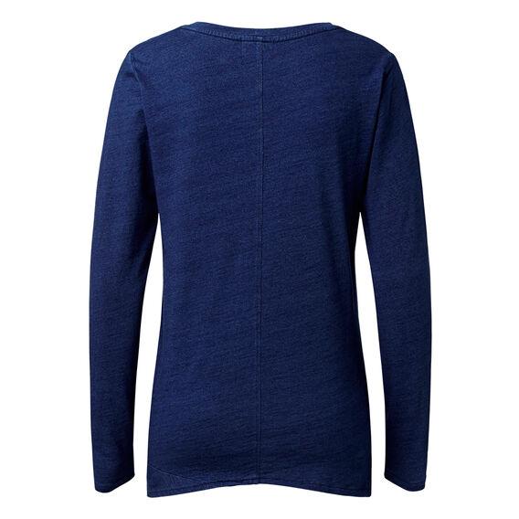 Knotted Indigo Sweater