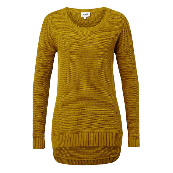 Chartreuse Knit