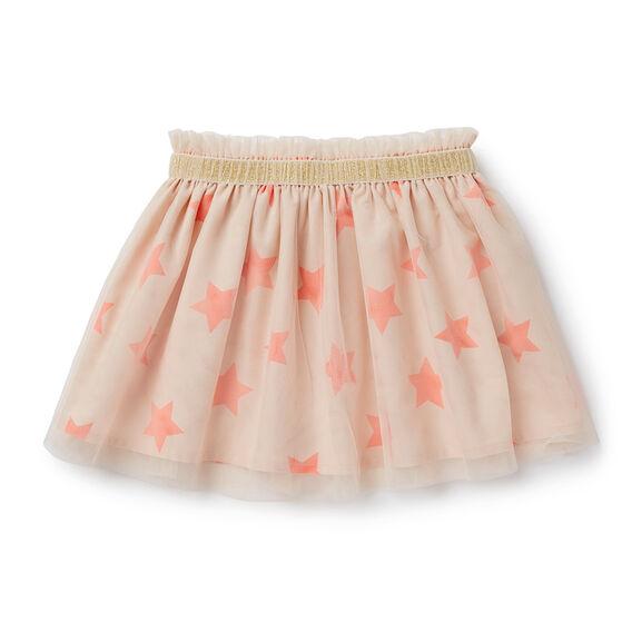 Glitter Trim Skirt