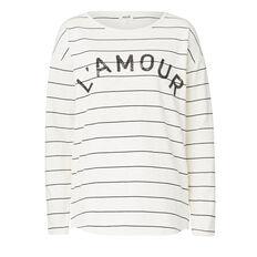 L' Amour Stripe Sweater