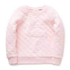 Quilted Flamingo Windcheater