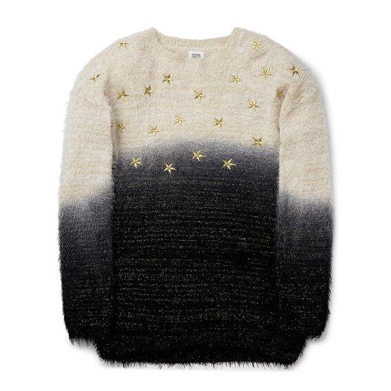 Fluffy Star Knit