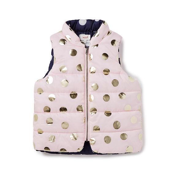 Reversible Spot Vest