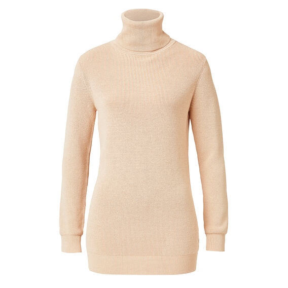 Collection Crepe Roll Neck Sweater