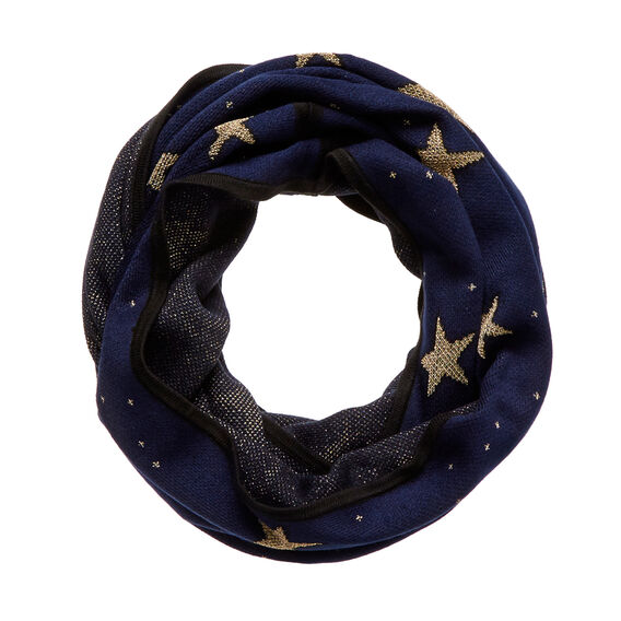 Metallic Star Snood