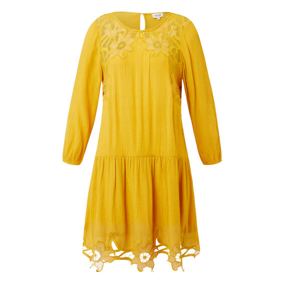 Saffron Lace Dress