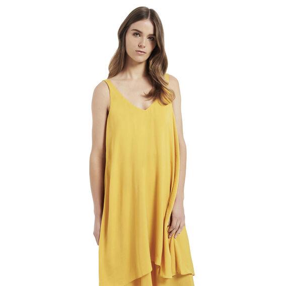 Saffron Layer Maxi