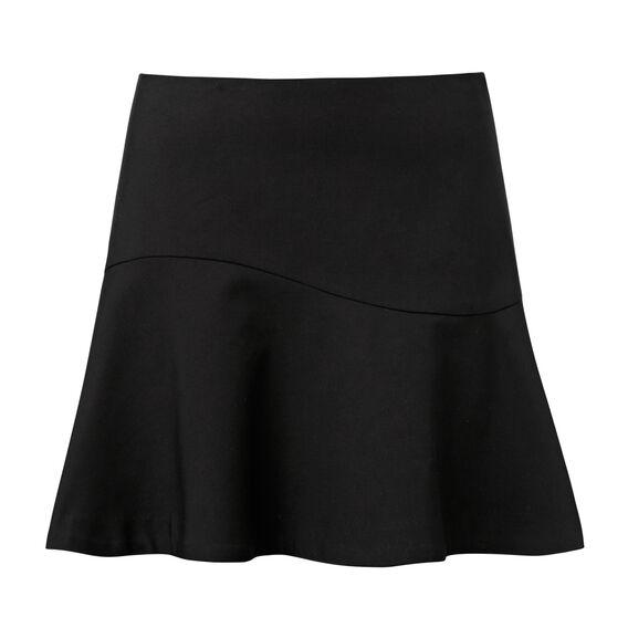 Double Frill Mini Skirt