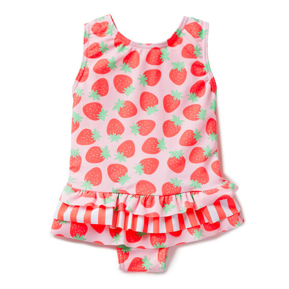 Strawberry Print Bathers