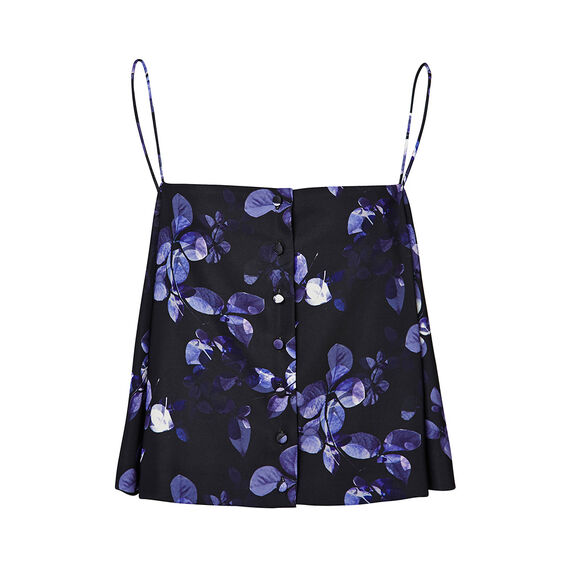 Collection Floral Cape Top